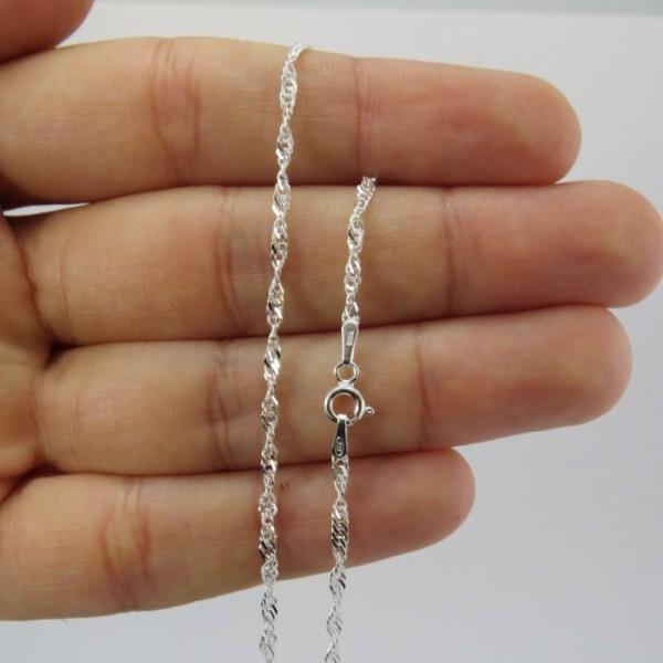 Cadena de plata 10002 | La Tienda de los Minerales