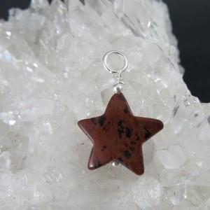 Colgante estrella jaspe sardo