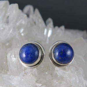 Pendientes lapislázuli y plata