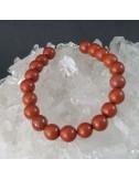 Pulsera Aries-jaspe rojo