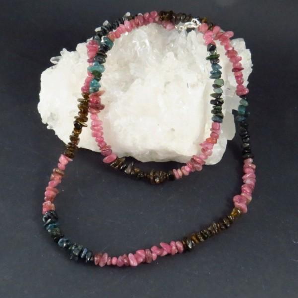 Collar turmalina de colores - La Tienda de los Minerales