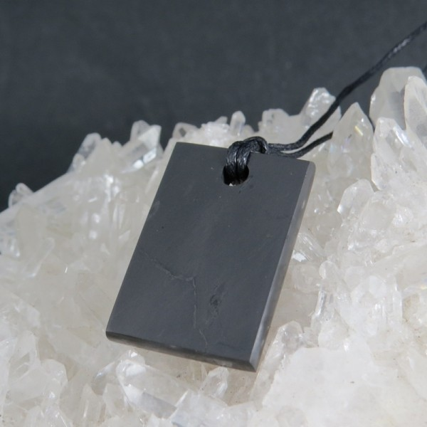 Colgante shungit | La Tienda de los Minerales