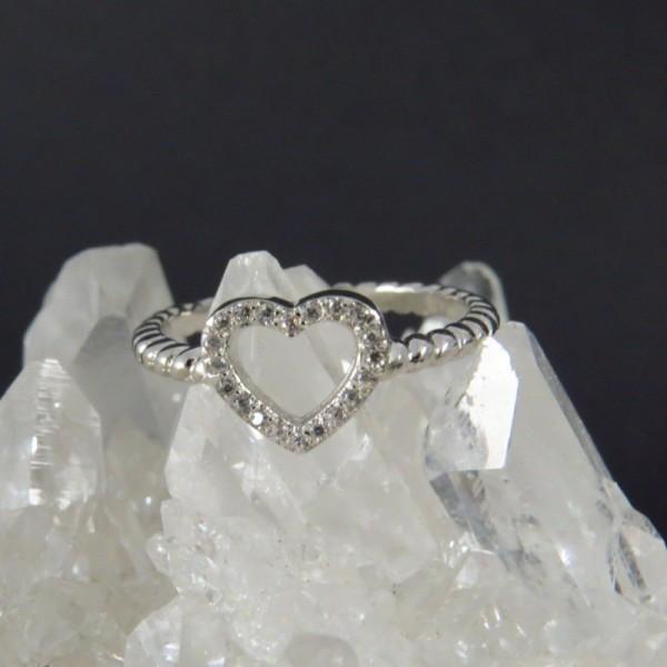 Anillos plata - anillo corazón | La Tienda de los Minerales