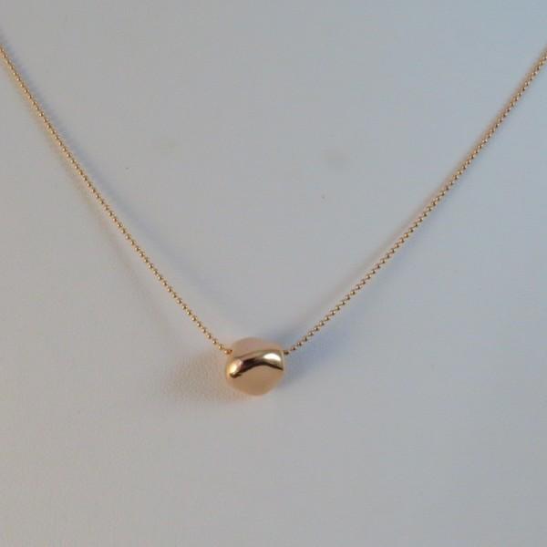 el más nuevo 4d673 9120d Collar oro rosa