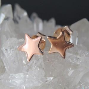 Pendientes estrellas de plata