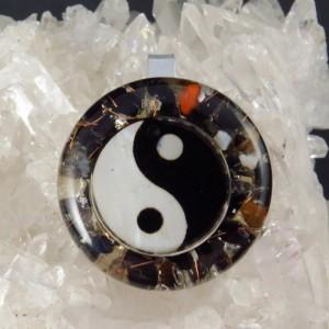 Colgante Orgonita Yin Yang