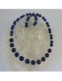 Collar lapislázuli y plata - La Tienda de los Minerales