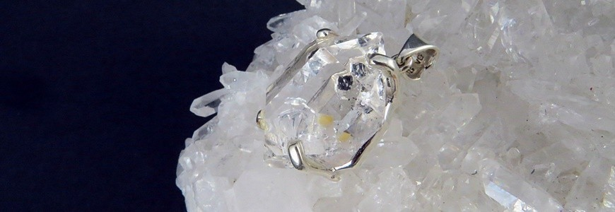 Cuarzo Diamante Herkimer