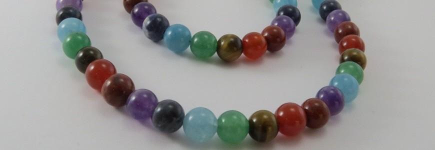 Piedras 7 Chakras, busca tu colgante, collar o pulsera- La Tienda de los Minerales