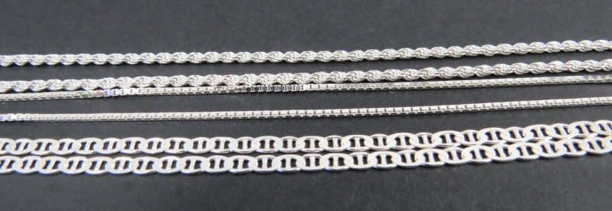Cadenas de plata 45 cm